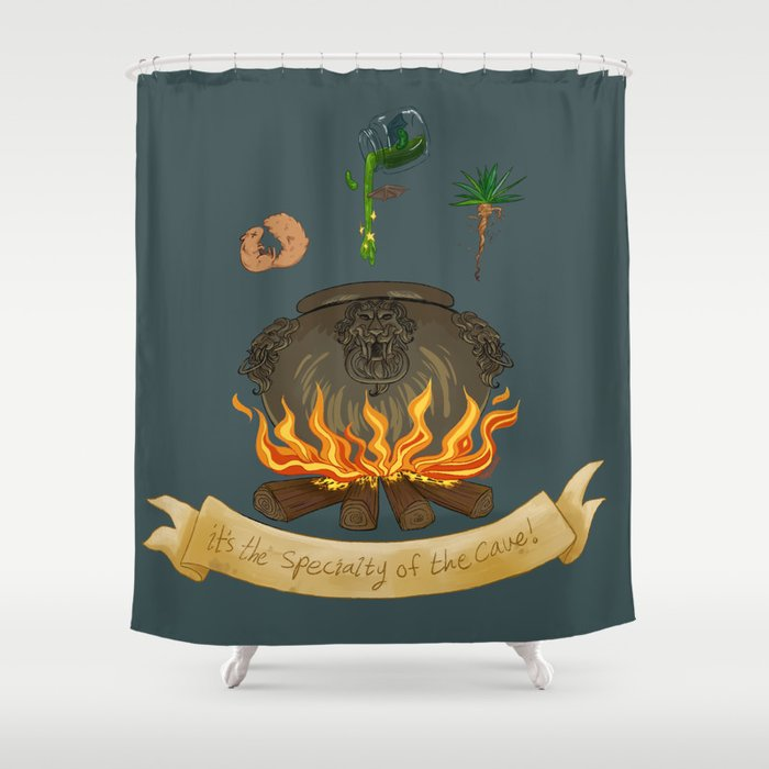 It's the specialty of the cave! Shower Curtain