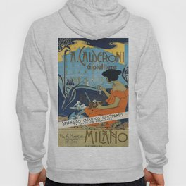 Vintage poster - A. Calderoni Gioielliere Hoody