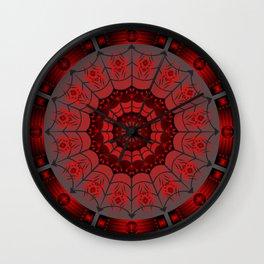 Gothic Spider Web Wall Clock