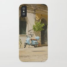 Corfu Street Scooter Slim Case iPhone X