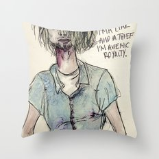 Pennyroyal tea Throw Pillow