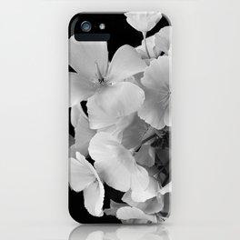 Black & White Bouquet iPhone Case