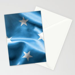 Micronesia Flag Stationery Cards