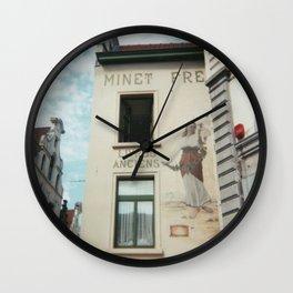 Livres anciens, Brussels Wall Clock