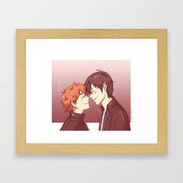 kagehina -pink Framed Art Print