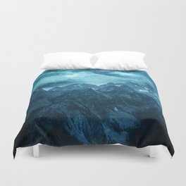 Amazing Nature - Mountains Duvet Cover