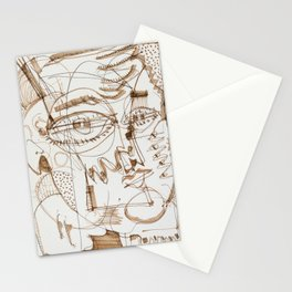 Boy And His Parrot Stationery Cards