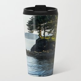 Edge of the Water Metal Travel Mug