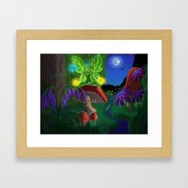 Fairy Energy Framed Art Print