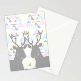 Double oh deer! Stationery Cards