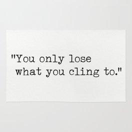 Buddha quote 3 Rug