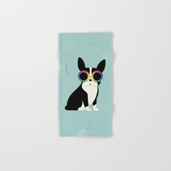 Work Hard Play Harder Hand & Bath Towel