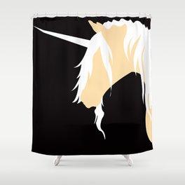 The Last Unicorn (inspired art) Shower Curtain