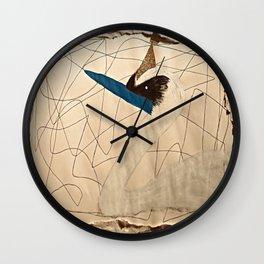Crown Swan Wall Clock