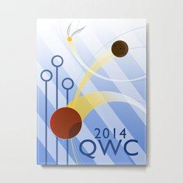 Quidditch World Cup 2014 Metal Print