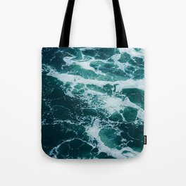 The Water Waves (Color) Tote Bag
