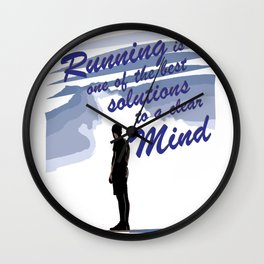 Runnig is one of the best Solution Wall Clock