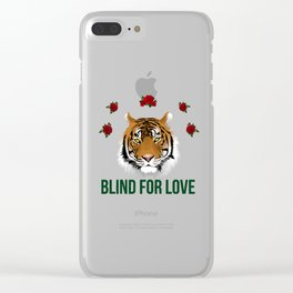 blind for love Clear iPhone Case
