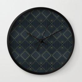 Art Deco Pattern Wall Clock