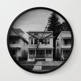 House // Albany, NY Wall Clock