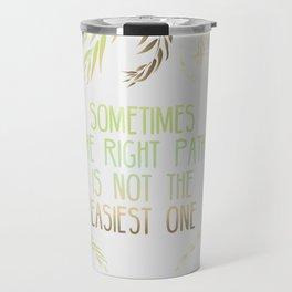 Grandmother Willow's Words Travel Mug