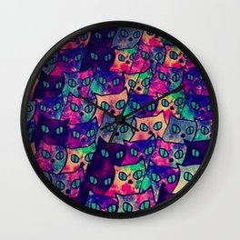 Cats  New colour No. 1 popularity 316 Wall Clock