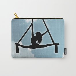 Aerialist in the Sky Carry-All Pouch