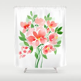 Coral Sea Dreaming Shower Curtain