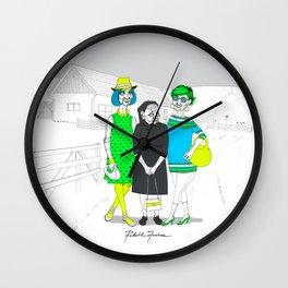 OldLadies Wall Clock