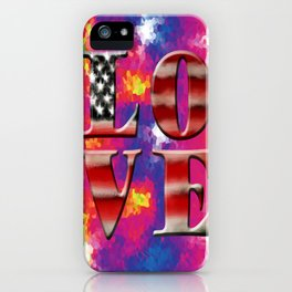 Love American Style iPhone Case