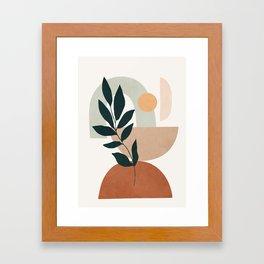 Soft Shapes IV Framed Art Print