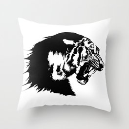 The great tiger Throw Pillow