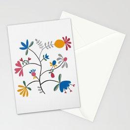 Kurbits – Flower – Blue Bell – Scandinavian Folk Art Stationery Cards
