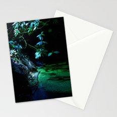 Leaf lighting Stationery Cards