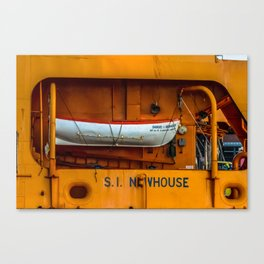 The Ferry Boat Newhouse Canvas Print