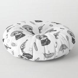 Zapatista Floor Pillow