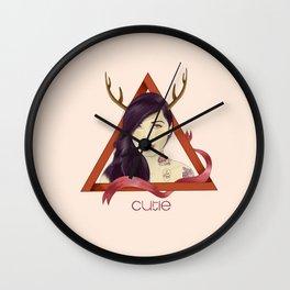 Yaz the cutie Wall Clock