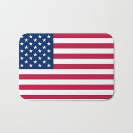 Flag of USA - American flag, flag of america, america, the stars and stripes,us, united states Bath Mat
