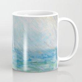 1886-Claude Monet-Regnvær, Etretat-60 x 73 Coffee Mug