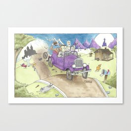 Monster Ride Canvas Print