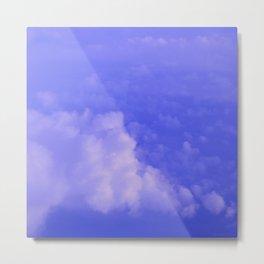 Aerial Blue Hues I Metal Print