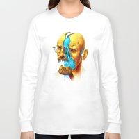 breaking Long Sleeve T-shirts featuring Breaking Bad / Broken Bad by Mirco
