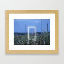 Do not go gentle into that good night Framed Art Print
