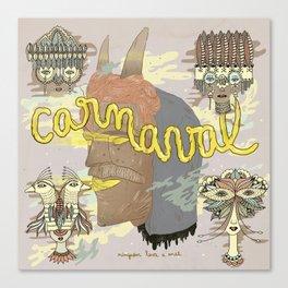 Carnaval #C02 Canvas Print