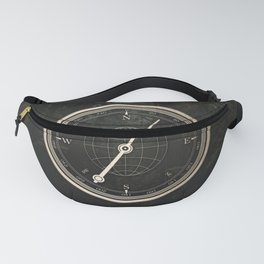 Gold Compass - The Road to Wisdom Fanny Pack