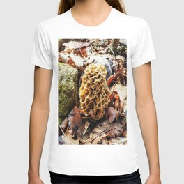 Morel Mushroom in the Wild T-shirt