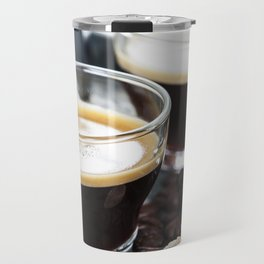 Breakfast with coffee and croissants Travel Mug