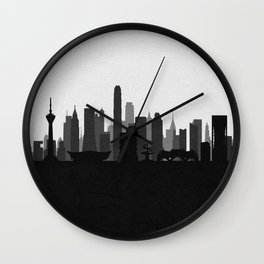City Skylines: Chengdu Wall Clock