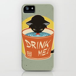 Drink water well iPhone Case
