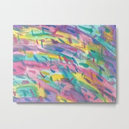 Bursting with Color Metal Print